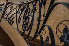 Urbex Villa Mistral (Fenjav) Tags: urbex abandoned decay villa mistral halloween horror skeleton pumpkins piano strairs