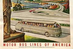 Full Bus (saltycotton) Tags: travel bus theamericanlegionmagazine vintage magazine advertisement ad 1945 1940s