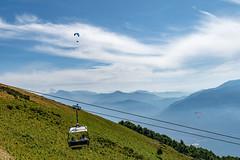 Lago Maggiore 2018  - Locarno/Cimetta (karlheinz klingbeil) Tags: seilbahn suisse lagomaggiore cablecar swissalps schweiz switzerland berge alpen mountain avegno tessin ch