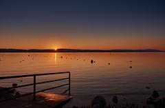 A nice autumn evening (flowerikka) Tags: atmosphere ausblick autumn bodensee boje eveningmood herbst lake lakeside seeufer see shore sky sunset ufer view water