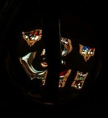 chapel windows (Mr Ian Lamb 2) Tags: stainedglass chapelwindows durham abstract reflection church stcuthbertschapel brass ushawcollege faith worship religion ecclesiastical