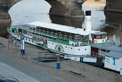 Paddle steamer Dresden (stephengg) Tags: germany free state dresden saxony river elbe paddle steamer boat