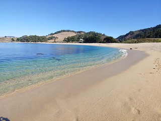 Awesome beach on the Pacific Ocean