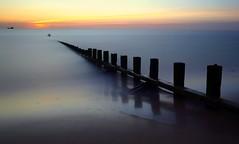 The Dreaming (PeskyMesky) Tags: aberdeen aberdeenbeach longexposure scotland water sunrise sunset groyne canon canon6d eos