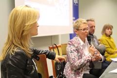 Uczestnicy panelu: Iwona Guzowska, Monika Grygorowicz, Wojciech Weiss, Honorata Jakubowska