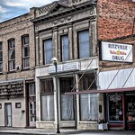 Ritzville Washington - A. F. Rosenoff Building - Former Drug Store - HIstoric thumbnail