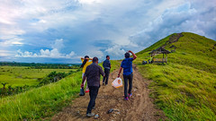 Up The Hill We Go (A'Agung) Tags: people scenery hill sentani jayapura papua beautiful view indonesia z5c