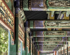 Walkway Ceiling Summer Palace Beijing China (Barbara Brundage) Tags: walkway ceiling summer palace beijing china
