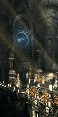Lothric Cathedral (D4l41L4m4) Tags: fromsoftware bandainamco bandainamcoentertainment darksoulsiii darksouls3 darksouls ds games gaming game pc reshade building statues road doors entrance
