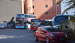 A varied collection of vehicles on 23rd September 2018 (paulburr73) Tags: