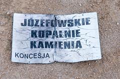 _DSC1477.jpg (Kaminscy) Tags: jozefow roztocze signboard zamojszczyzna europe stonepit poland józefów lubelskie pl