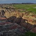 A Badlands Setting Not Long After Dawn (Badlands National Park)