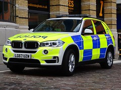 BMW X5 Police Demonstrator (Armed Response Vehicle), LG67 UZW, Birmingham City Centre. (Vinnyman1) Tags: west midlands police armed response vehicle bmw x5 demonstrator lg67 uzw birmingham arv firearms afo authorised officer emergency services service rescue 999 england uk united kingdom gb great britain operation pelkin prime minister conservative party conference tory tories 2018