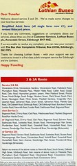 03.2006 Info (Callum's Buses and Stuff) Tags: edinburghbus lothian bus buses lothianbuses busesedinburgh edinburgh timetable 33a 3a 3