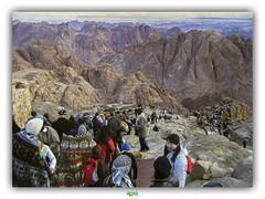 CLIMB THE MOUNTAIN OF YOUR FEAR (régisa) Tags: montagne egypt égypte sinai mount mont omd orchestralmanoeuvresinthedark view vue