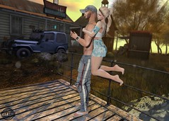 K&S Overly Attached HUD (Carol Newall) Tags: evie ks catwa wasabi sunset love couple hud attached vanityevent tmd blog blogger beauty beautiful second life virtual
