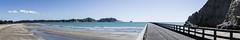 Tolaga Bay Wharf (W0_0DS) Tags: new zealand wharf sea ocean panorama nature