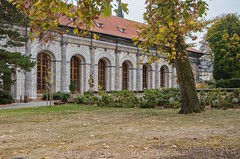 DSC_0324 (coolguide.cz) Tags: prague castle pražský hrad the royal garden královská zahrada ball game hall summer palace