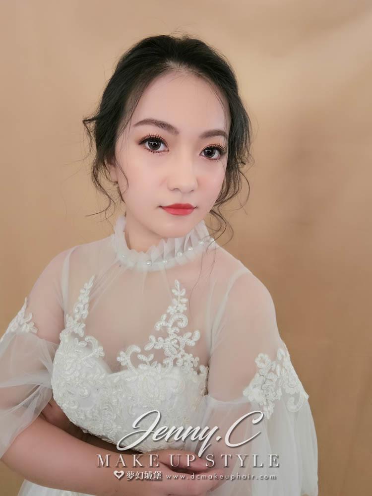 【新秘蓁妮】新娘造型創作 / 唯美氣質風範