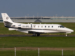 Prince Aviation | Cessna 560XL Citation XLS+ | YU-SPC (Bradley's Aviation Photography) Tags: egss stn stansted stanstedairport londonstanstedairport canon70d avgeek aviationphotography aviation aircraft air airplane airport aeroplane plane planespotting spotting princeaviation cessna560xlcitationxls yuspc