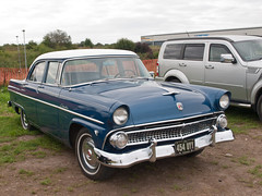 454 UYY  1955  Ford Customline (wheelsnwings2007/Mike) Tags: 454 uyy 1955 ford customline american auto club north west meeting barton city airport september 2018