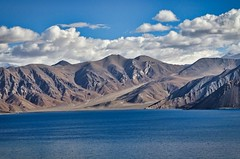 DSC01094 (Sush.kk) Tags: pangong ladakh lake leh blue water sky