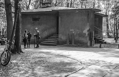 Small museum (AstridWestvang) Tags: building gdansk museum people poland westerplatte ww2
