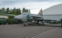 Saab Viggen (Boushh_TFA) Tags: saab viggen 4 49 ja 37 d swedish air force försvarsmaktens flygdagar 2016 malmen airbase flygplats escf malmslätt linköping sweden nikon d600 nikkor 24120mm f4 vr