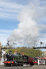 Steam Galore (Roy Lowry) Tags: 76079 2857 280 260 northyorkshiremoorsrailway grosmont steamlocomotive locomotive