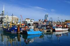Camber Docks (Tilney Gardner) Tags: portsmouth harbour hampshire nikon boats