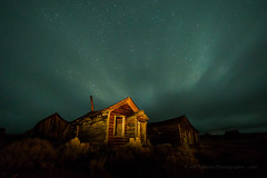 Moving Clouds and Airglow (Jeff Sullivan (www.JeffSullivanPhotography.com)) Tags: state historic park night photography workshop bodiestatehistoricpark abandoned american wild west mining ghost town monocounty bridgeport california usa landscape nature canon eos 5d mark iv photo copyright 2018 jeffsullivan october allrightsreserved bodie 2