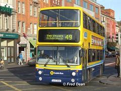Dublin Bus AV383 (03D20383). (Fred Dean Jnr) Tags: dublin november2009 dublinbusyellowbluelivery busathacliath dublinbus volvo b7tl alexander alx400 dublinbusroute49 rend av383 03d20383 edenquaydublin