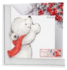 Craft Creations - Shelley185 (Craft Creations Ltd) Tags: bear christmas greetingcard craftcreations handmade cardmaking cards craft papercraft