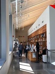 Store (Melinda Stuart) Tags: berkeley bampfa shop store museum perspective architecture contemporary shopping art design display