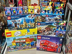 Fantastic World of LEGO – A New Found Hobby – Recent Haul – 10 Oct 2018 (My Toy Museum) Tags: recent arrival arrivals lego brickheadz avengers thanos gamora iron man wonder woman miki mouse star wars chewbacca simpsons dimension homer bart krusty kwikemart harry potter hogwarts whomping willow aragog lair fantastic beasts halloween creator double decker