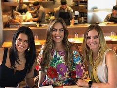 Maggie and Friends (The VIKINGS are Coming!) Tags: beautifulgirls blonde brunette restaurant birthday surprise