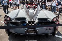 Huayra Roadster (Hunter J. G. Frim Photography) Tags: supercar hypercar monterey carmel california car week 2018 carweek canneryrow pagani huayra roadster gray v12 turbo italian convertible paganihuayra paganihuayraroadster