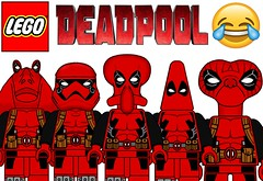 Funny Lego Deadpool Minifigures !!! Part 2 (afro_man_news) Tags: lego deadpool funny memee memes minifigure minifigures all new marvel star wars yoda darth vader soinc homer simpson stitch jokes characters groot simpsons aengers infinity war spongebob squarepants custom