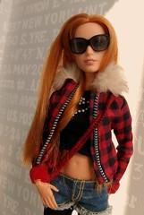 My perfect girl doesn't say her name... (ArtCat80) Tags: mattel mera portraitdoll wonderwoman ww dc barbiecollector barbie