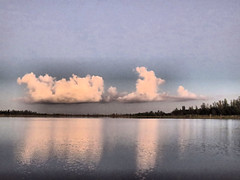Early clouds and reflections 20181018 (Kenneth Cole Schneider) Tags: florida miramar westmiramarwca