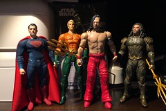 Mezco One:12 Collective, DC Essentials, and WWE Scale (misterperturbed) Tags: dccollectiblesessentials shinsukenakamura aquaman dc comics wwe mattel dceu superman mezcoone12collective one12collective batmanvsupermandawnofjustice justiceleague jla