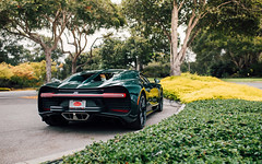 Chiron. (Alex Penfold) Tags: carweek 2018 america us car week supercars super autos alex penfold california monterey bugatti chiron green