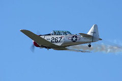 North American T-6G Texan (zfwaviation) Tags: krbd rbd wings over dallas commemorative air force wwii ww2 historical aviation airplane radial propeller bomber fighter caf n6253c wasp t6 texan