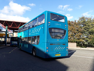 Arriva northumbria sapphire 7527 on the X18