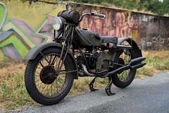 Moto Guzzi Alce 1948 500cc IOE (Michel 67) Tags: guzzi moto motorcycle motorbike motorrad motocicleta motociclette ancienne classic classik clasica antigua vecchia vintage motoguzzi