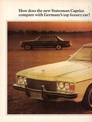 1975 HJ Statesman Caprice By Holden Page 1 Aussie Original Magazine Advertisement (Darren Marlow) Tags: 1 5 7 9 19 75 1975 h j hj holden s statesman c caprice car cool collectible collectors classic a automobile v vehicle g m gm gmh general motors aussie australian australia 70s