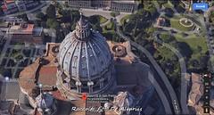 1930 2018 S. Pietro Cupola di Michelangelo b, foto de Alvariis By Google Maps (Roma ieri, Roma oggi: Raccolta Foto de Alvariis) Tags: basilicadisanpietroesterno sanpietro cittàdelvaticano rioneborgo roma rome lazio italy raccoltafotodealvariis 19302018giardinodellapignainvaticanofotodealvariisbygooglemaps