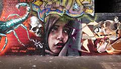 Digbeth Graf (Birmingham Phil) Tags: dtreetart art graffiti grafitti stencil sticker stickup canz hivis birminghamhivis hivisfestival birminghamuk birmingham westmidlands custardfactory betterthanbristol