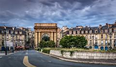 Porte de Bourgogne - Bordeaux - France (André Boulay) Tags: porte de bourgogne bordeaux france