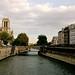 Vue de Notre-Dame depuis le Pont Saint-Michel